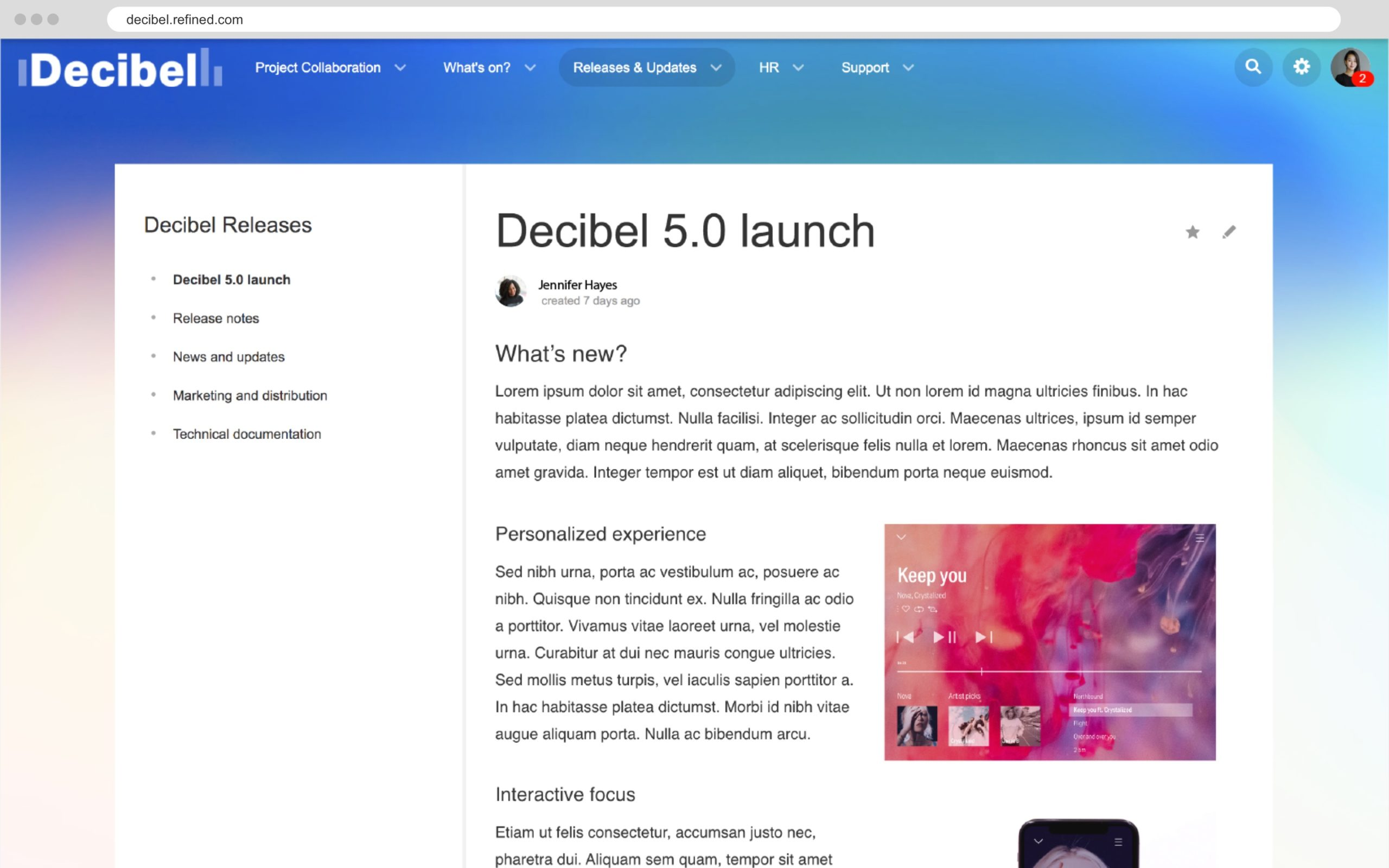 confluence-page-in-refined-decibel-theme