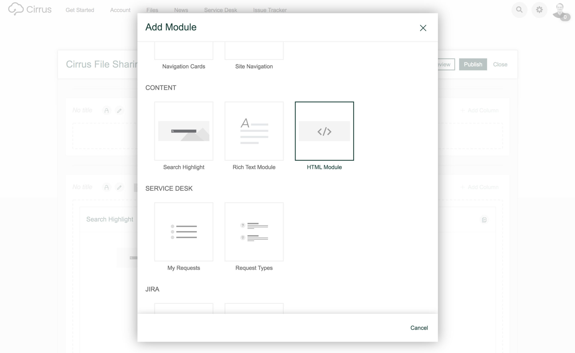 Add code to an HTML Module in Refined for a single-page widget.